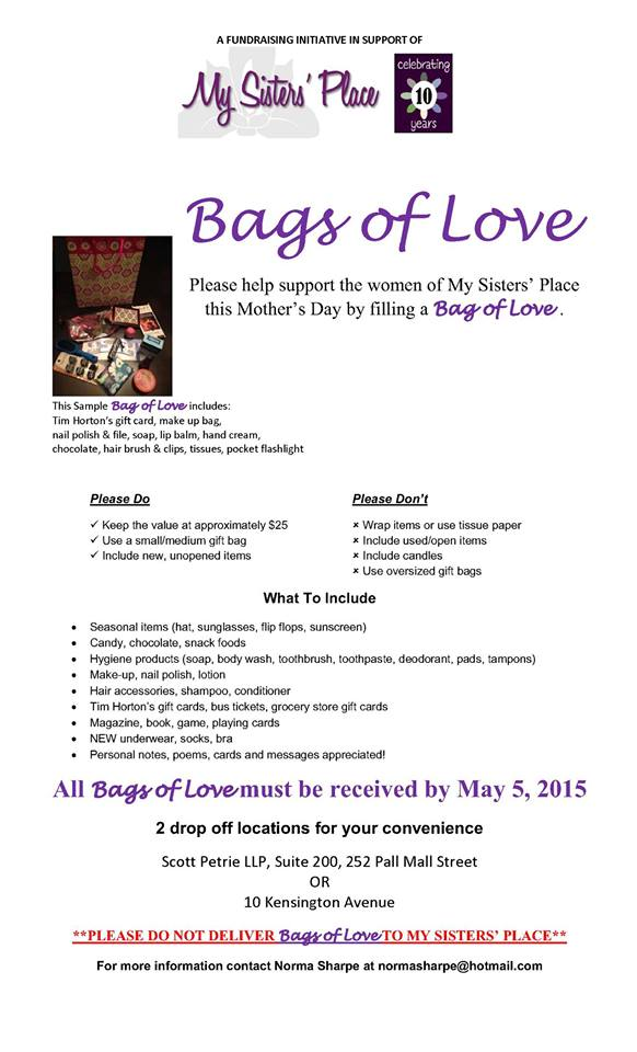 MSP Bags of Love